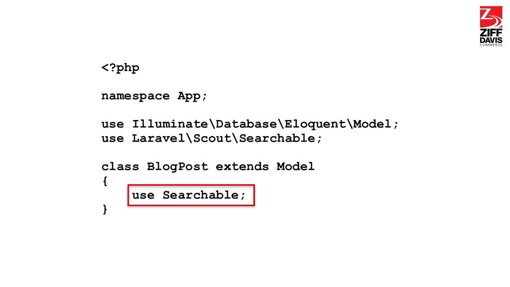 <?php namespace App; use Illuminate\Database\El...