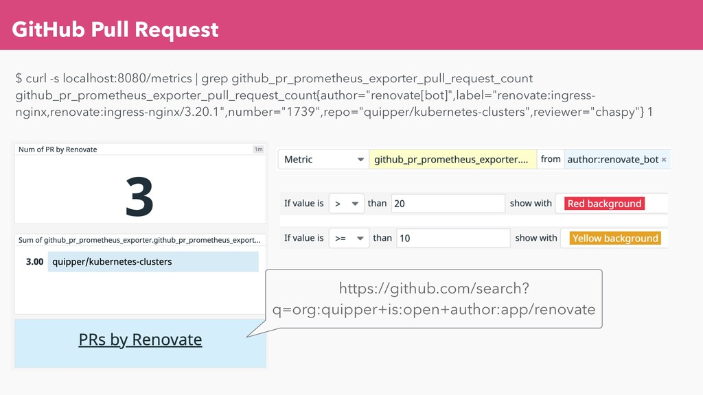 GitHub Pull Request $ curl -s localhost:8080/me...