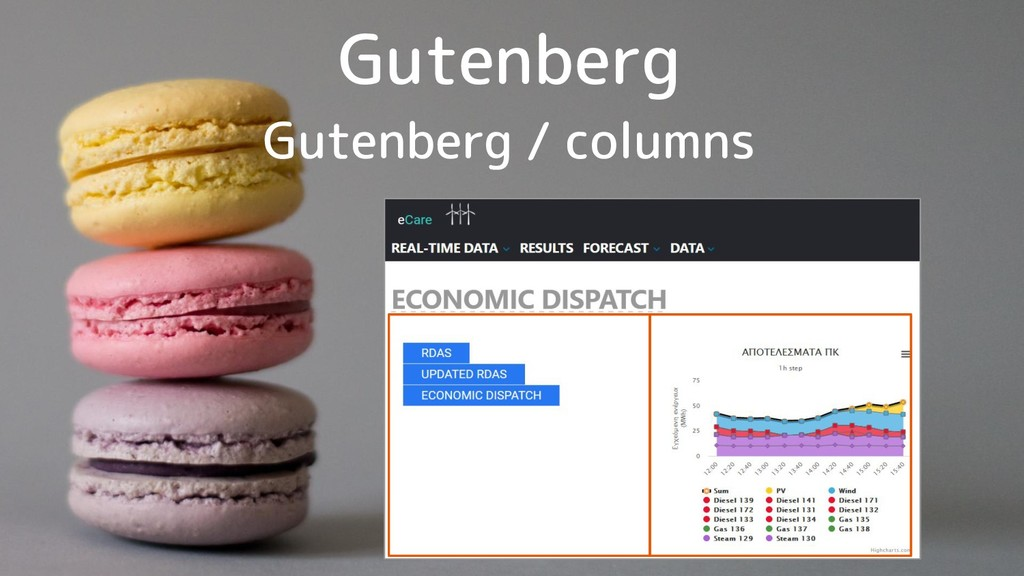 Gutenberg Gutenberg / columns