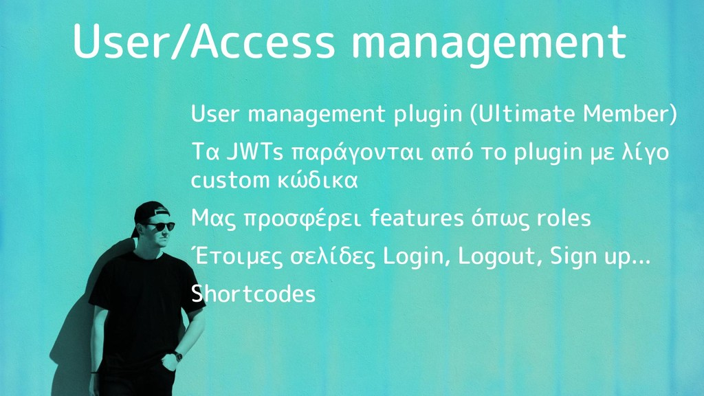 User/Access management User management plugin (...