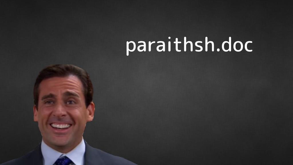 paraithsh.doc