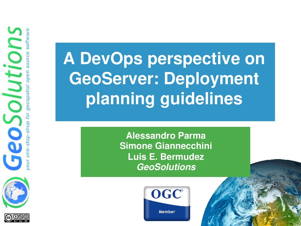 A DevOps perspective on GeoServer: Deployment p...