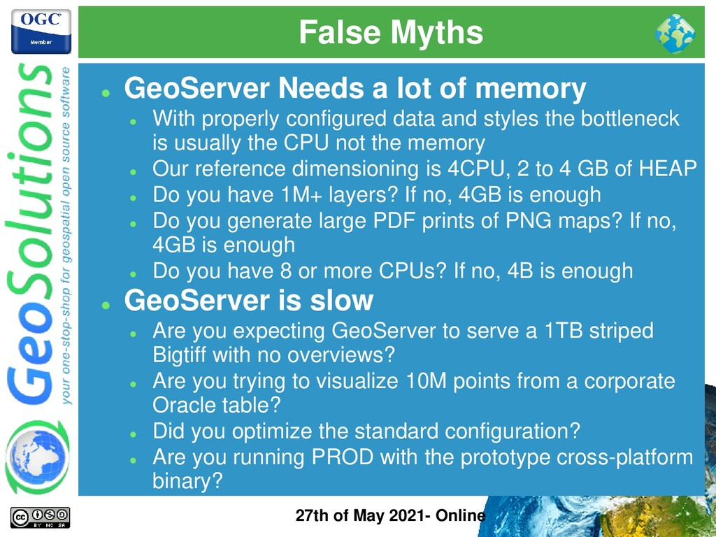 False Myths 27th of May 2021- Online ⚫ GeoServe...