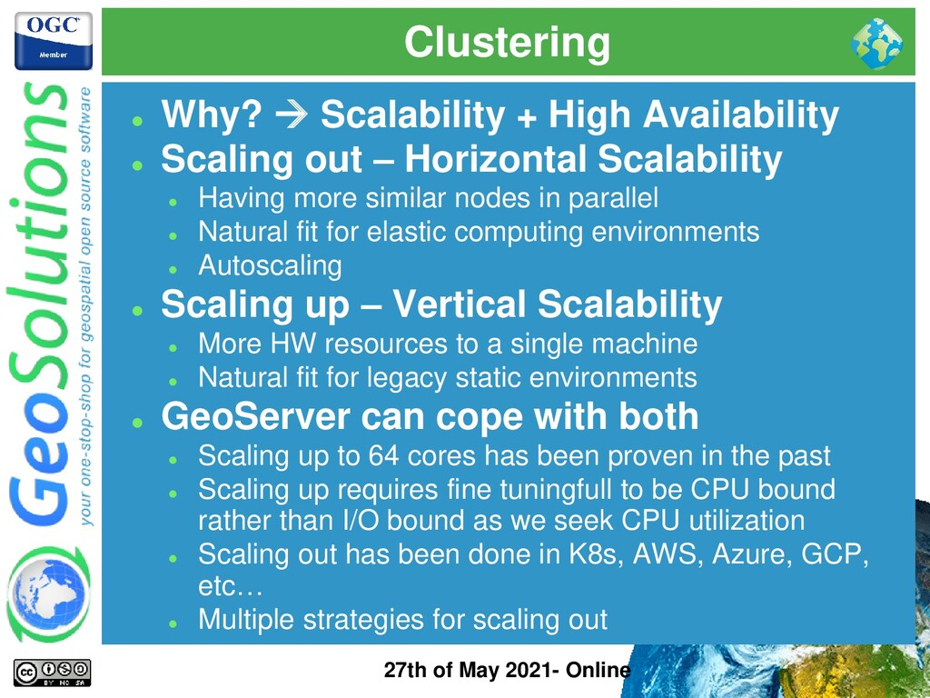 Clustering 27th of May 2021- Online ⚫ Why? → Sc...