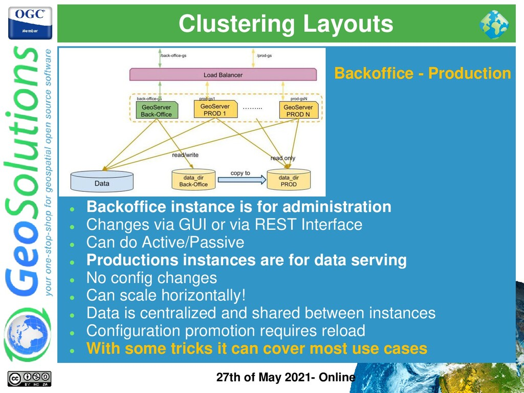 Clustering Layouts 27th of May 2021- Online Bac...