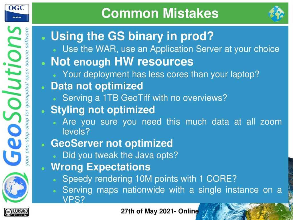 Common Mistakes 27th of May 2021- Online ⚫ Usin...
