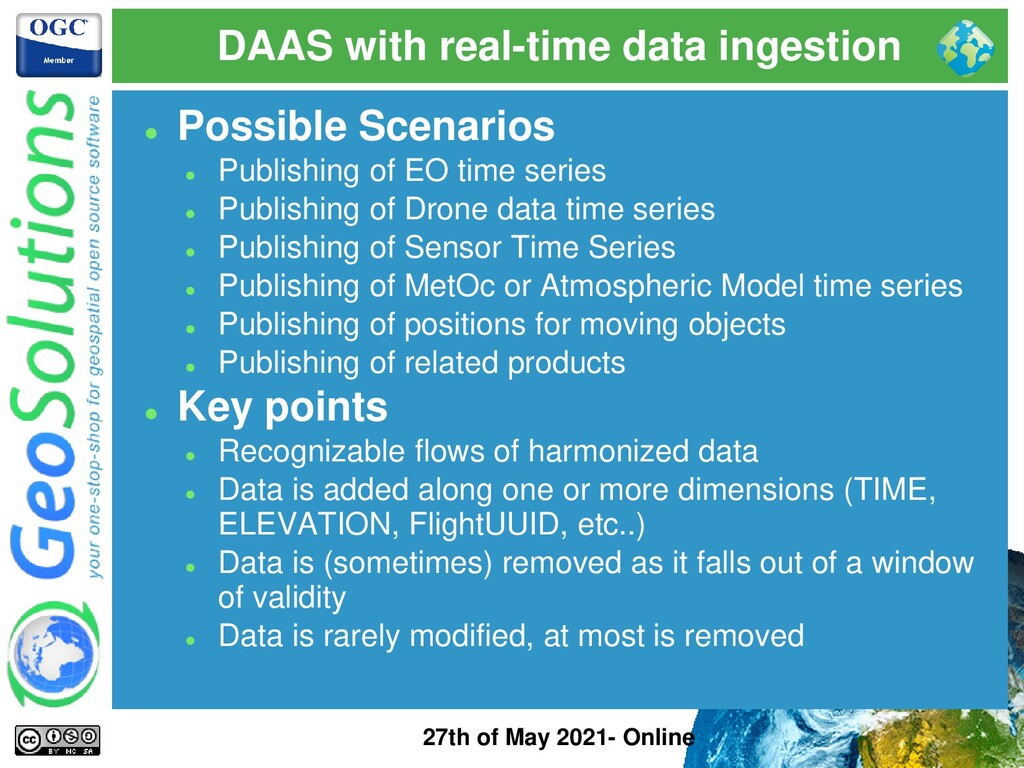 DAAS with real-time data ingestion 27th of May ...