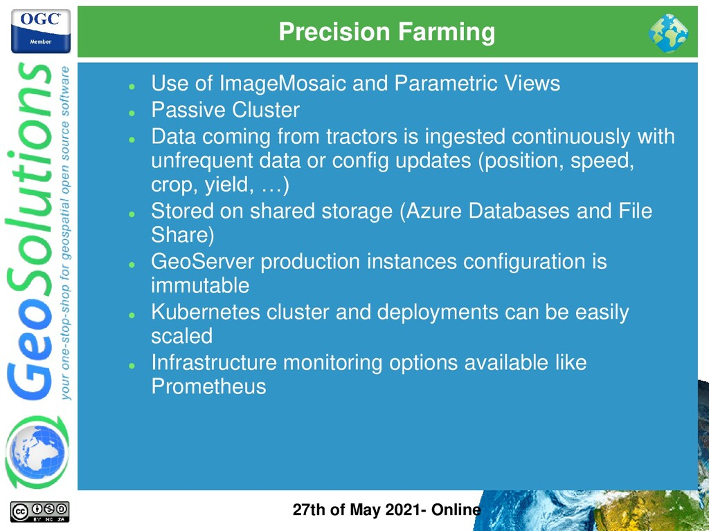 Precision Farming 27th of May 2021- Online ⚫ Us...
