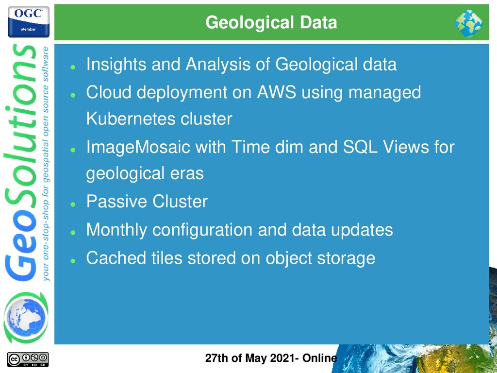 Geological Data 27th of May 2021- Online ⚫ Insi...