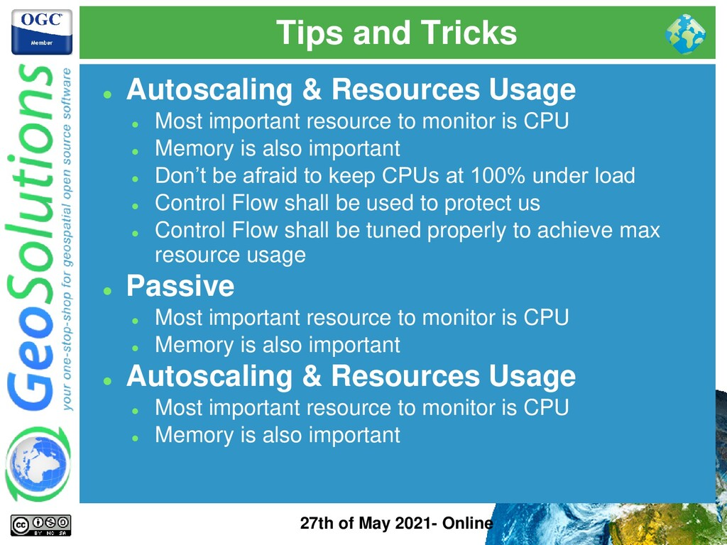 Tips and Tricks 27th of May 2021- Online ⚫ Auto...