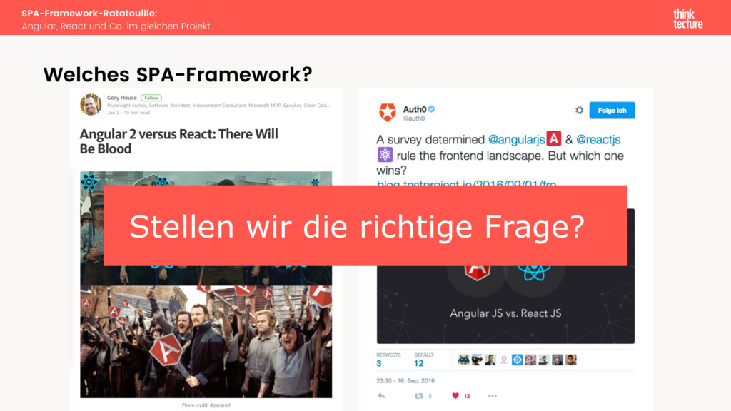 SPA-Framework-Ratatouille: Angular, React und C...