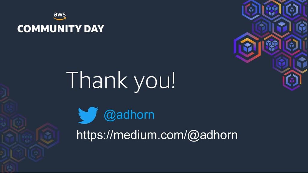 Thank you! @adhorn https://medium.com/@adhorn