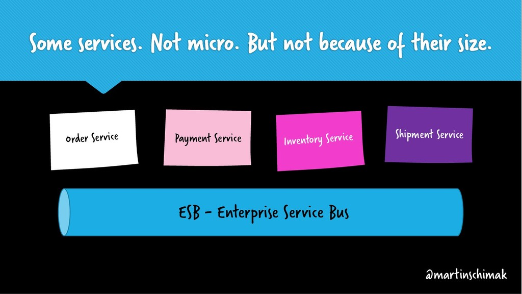 Some services. Not micro. But not because of th...