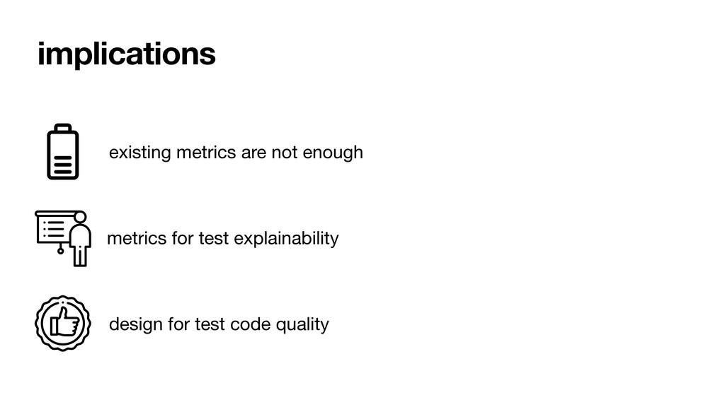 implications existing metrics are not enough me...