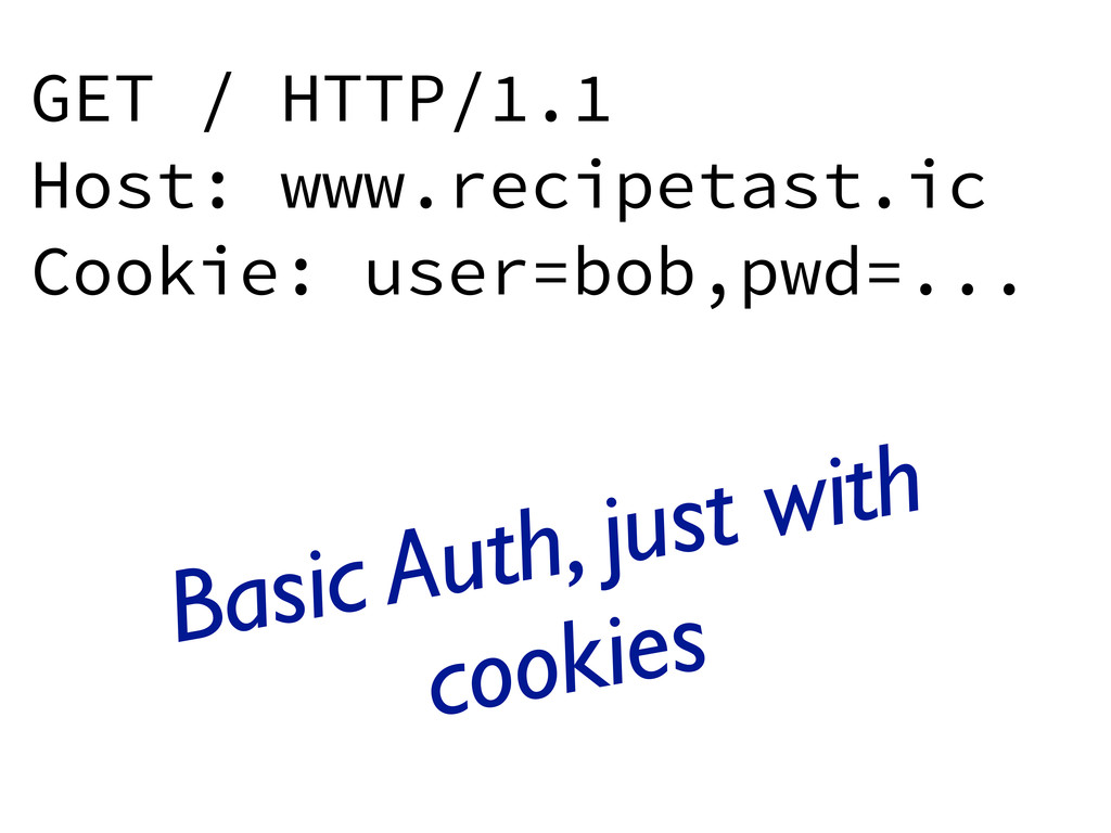 GET / HTTP/1.1 Host: www.recipetast.ic Cookie: ...