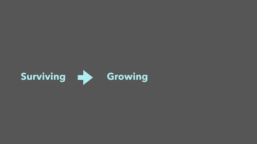Surviving Growing