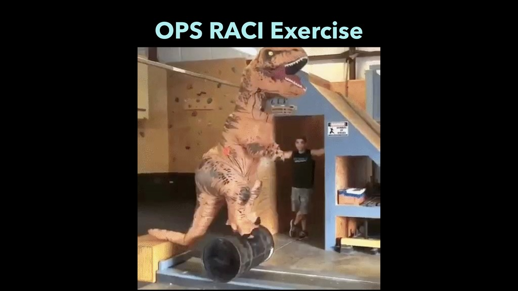 OPS RACI Exercise