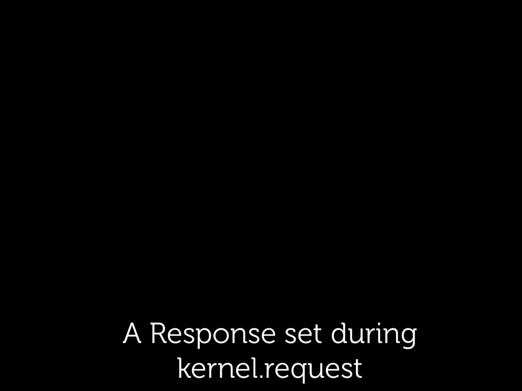 A Response set during kernel.request
