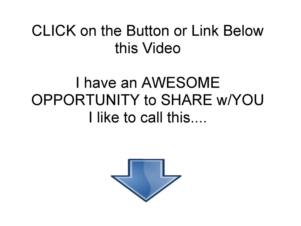 CLICK on the Button or Link Below this Video I ...