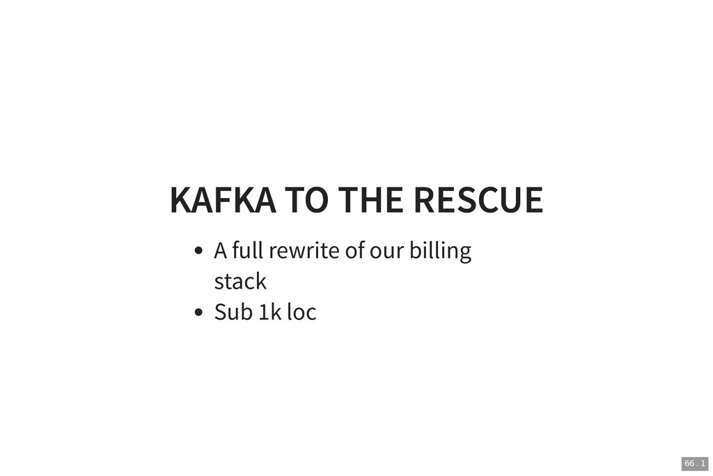 KAFKA TO THE RESCUE KAFKA TO THE RESCUE A full ...