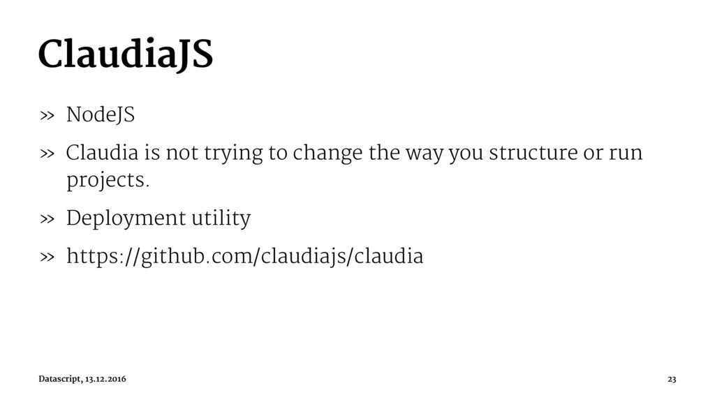 ClaudiaJS » NodeJS » Claudia is not trying to c...