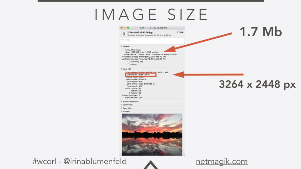 #wcorl - @irinablumenfeld netmagik.com I M A G ...