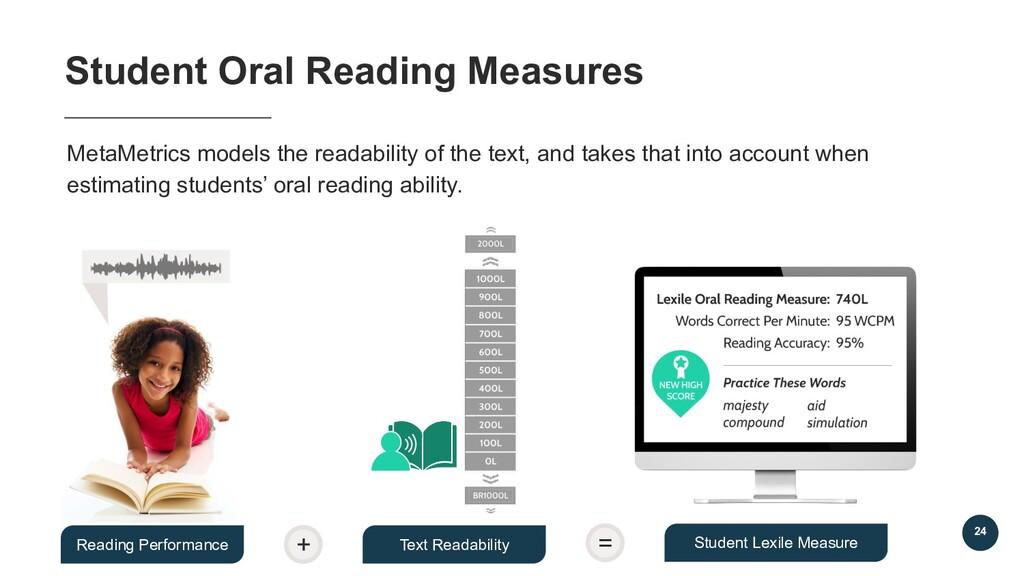 MetaMetrics models the readability of the text,...