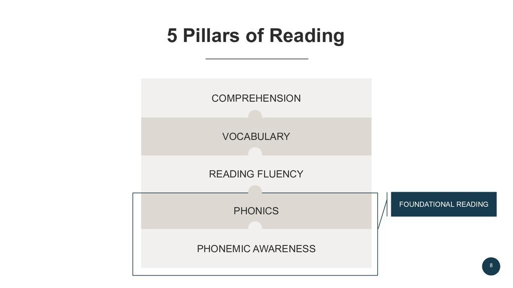 8 5 Pillars of Reading PHONEMIC AWARENESS PHONI...