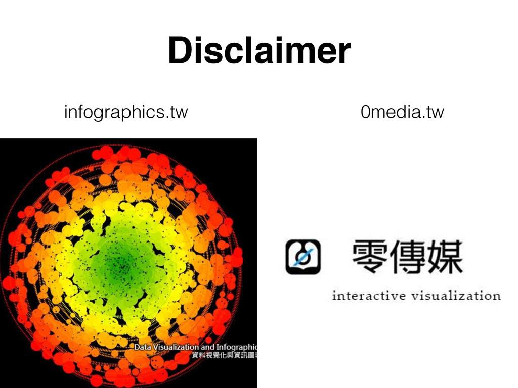 Disclaimer infographics.tw 0media.tw