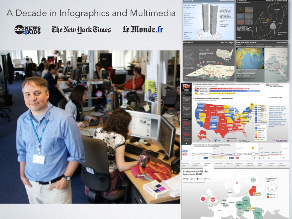 A Decade in Infographics and Multimedia