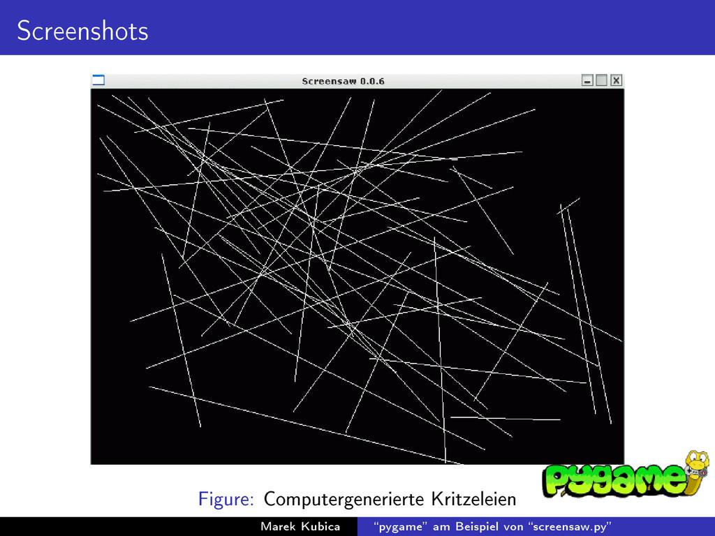 Screenshots Figure: Computergenerierte Kritzele...