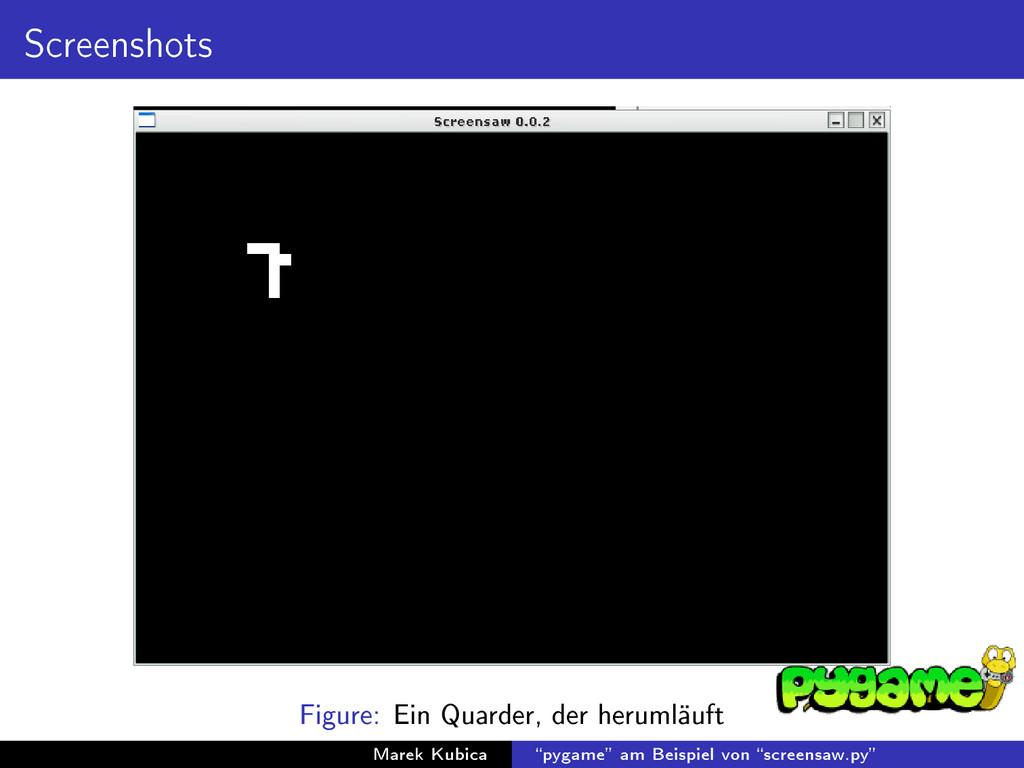 Screenshots Figure: Ein Quarder, der herumläuft...