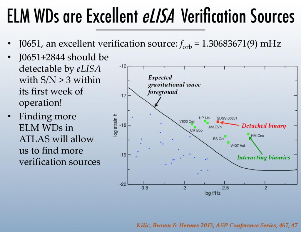 • J0651, an excellent verification source: ...