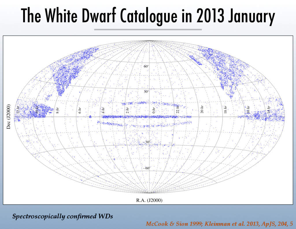 The White Dwarf Catalogue in 2013 January McCoo...