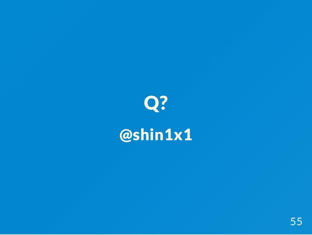 Q? @shin1x1 55