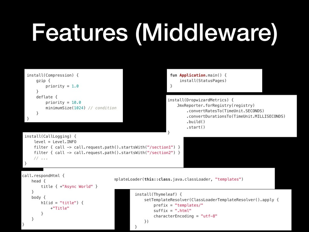 Features (Middleware)