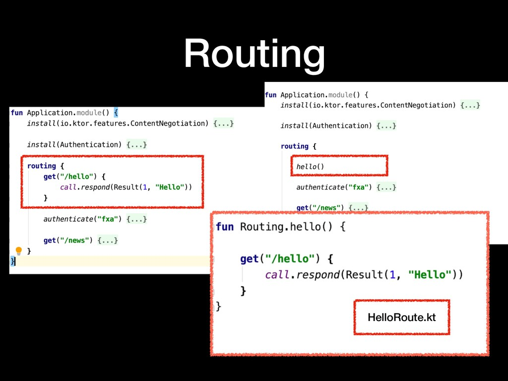 Routing HelloRoute.kt