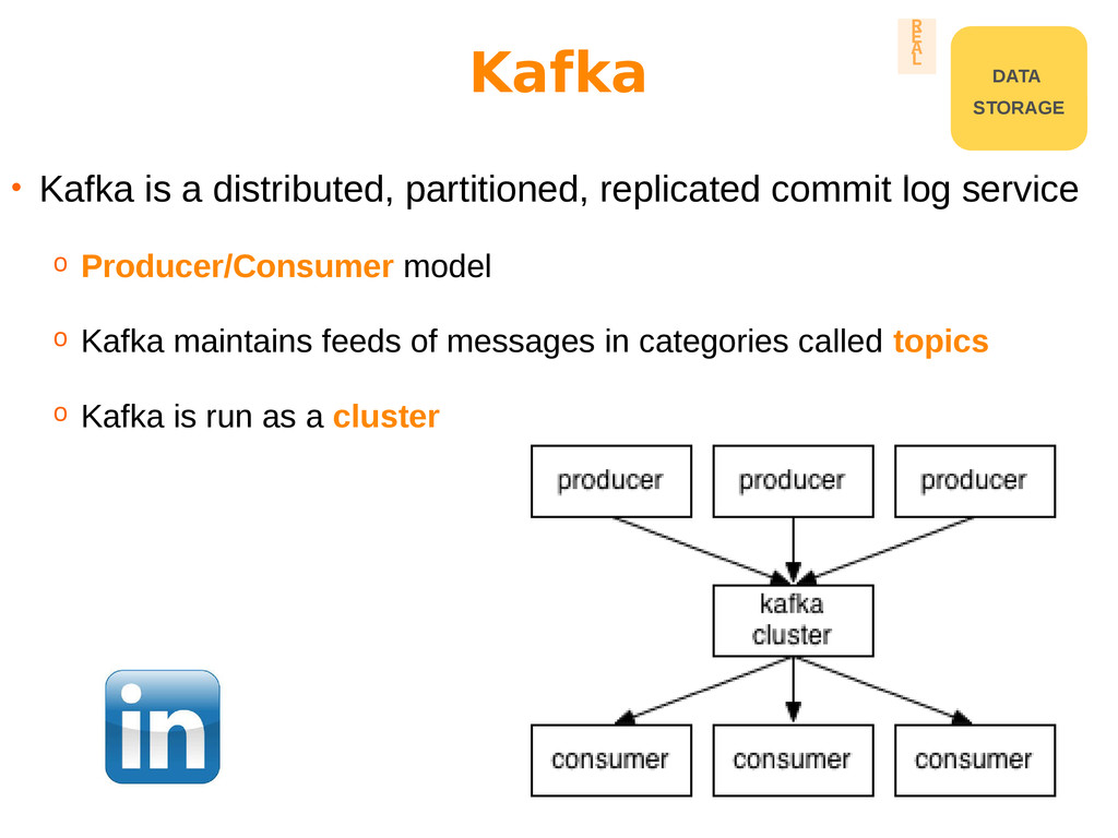 • Kafka is a distributed, partitioned, replicat...
