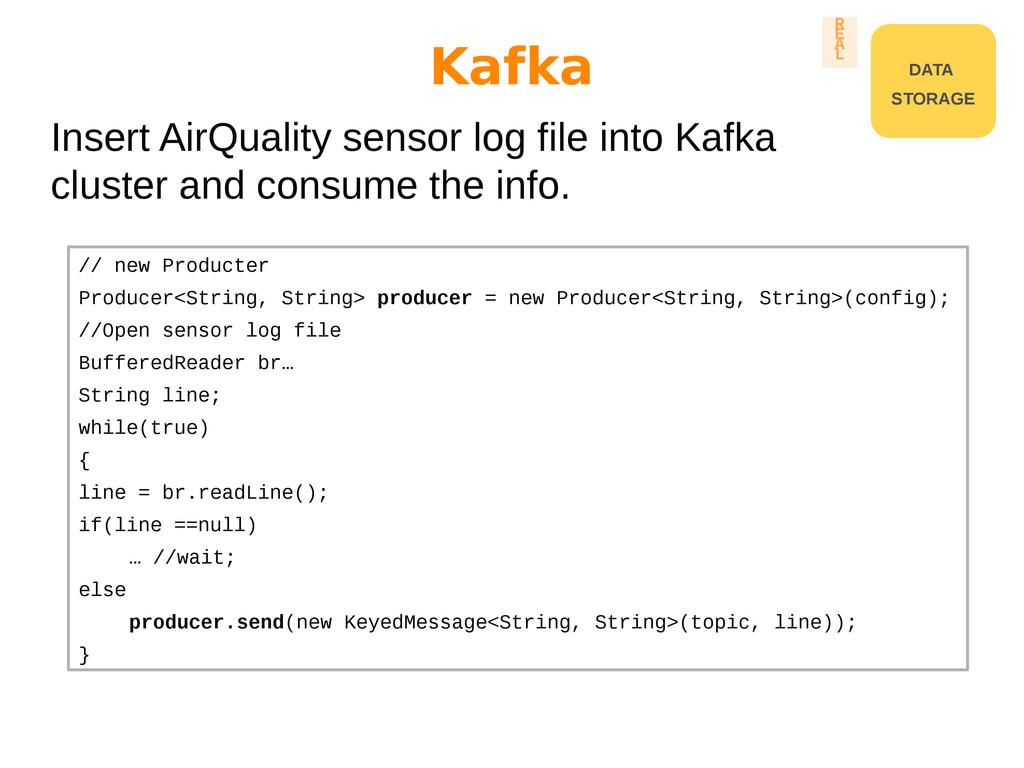 Insert AirQuality sensor log file into Kafka cl...