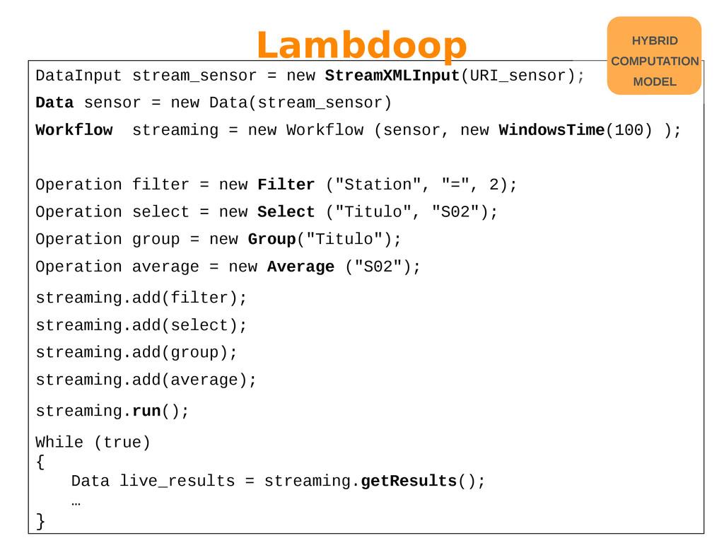 DataInput stream_sensor = new StreamXMLInput(UR...