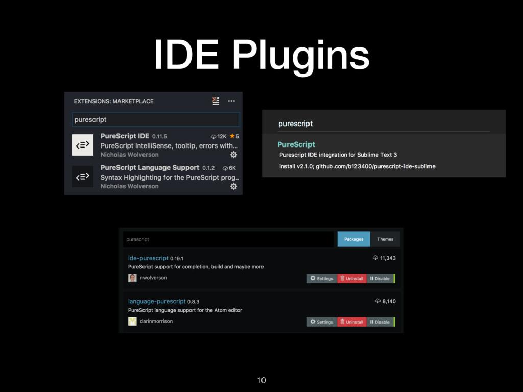 IDE Plugins 10