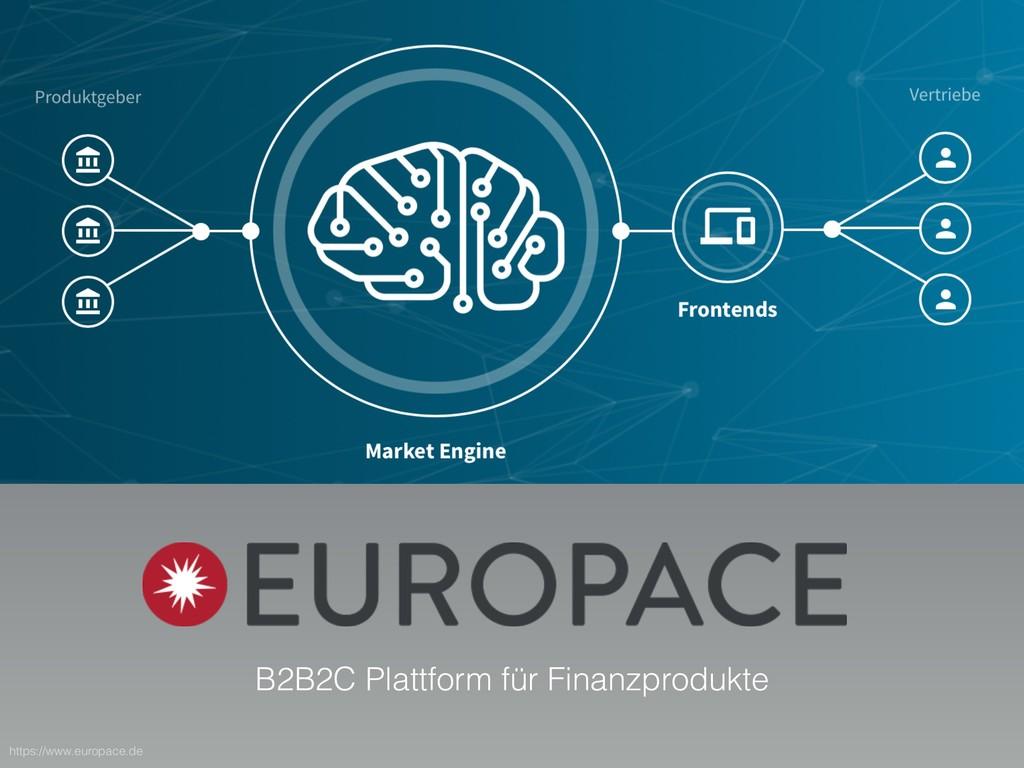 B2B2C Plattform für Finanzprodukte https://www....