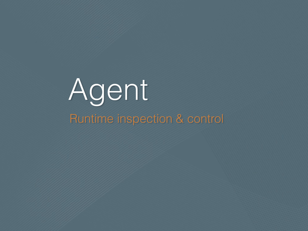 Agent Runtime inspection & control