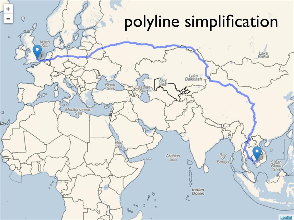 polyline simplification