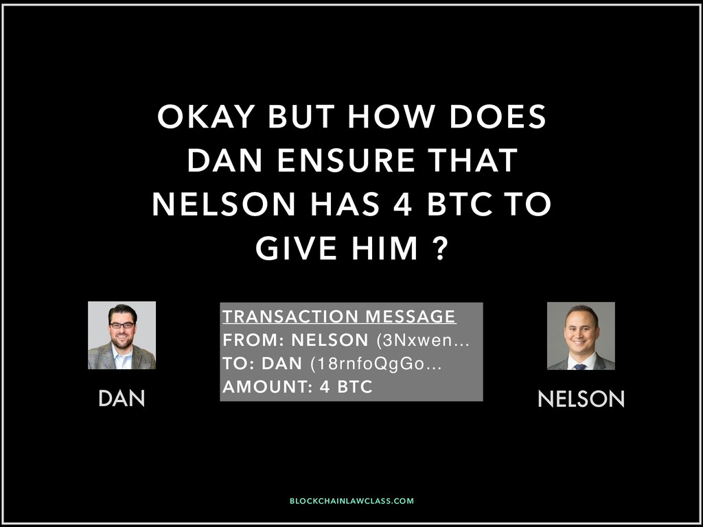 OKAY BUT HOW DOES DAN ENSURE THAT NELSON HAS 4 ...