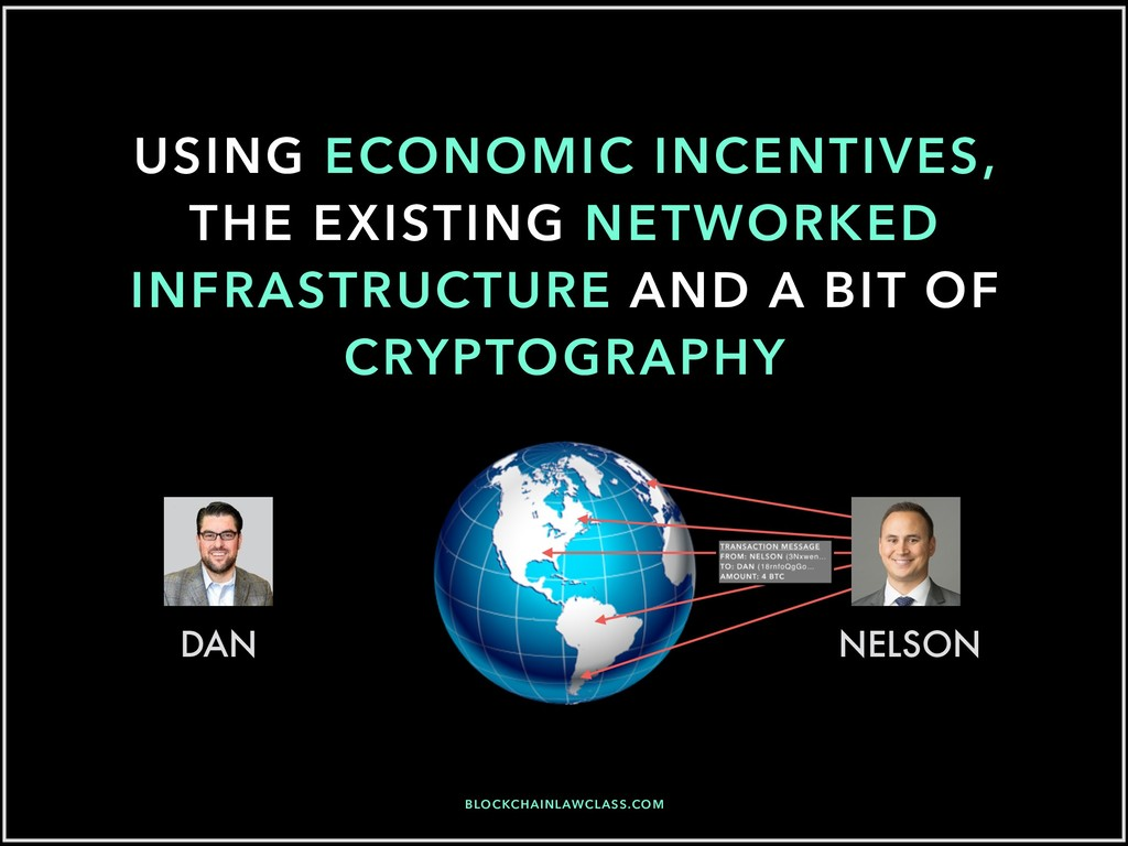 USING ECONOMIC INCENTIVES, THE EXISTING NETWORK...