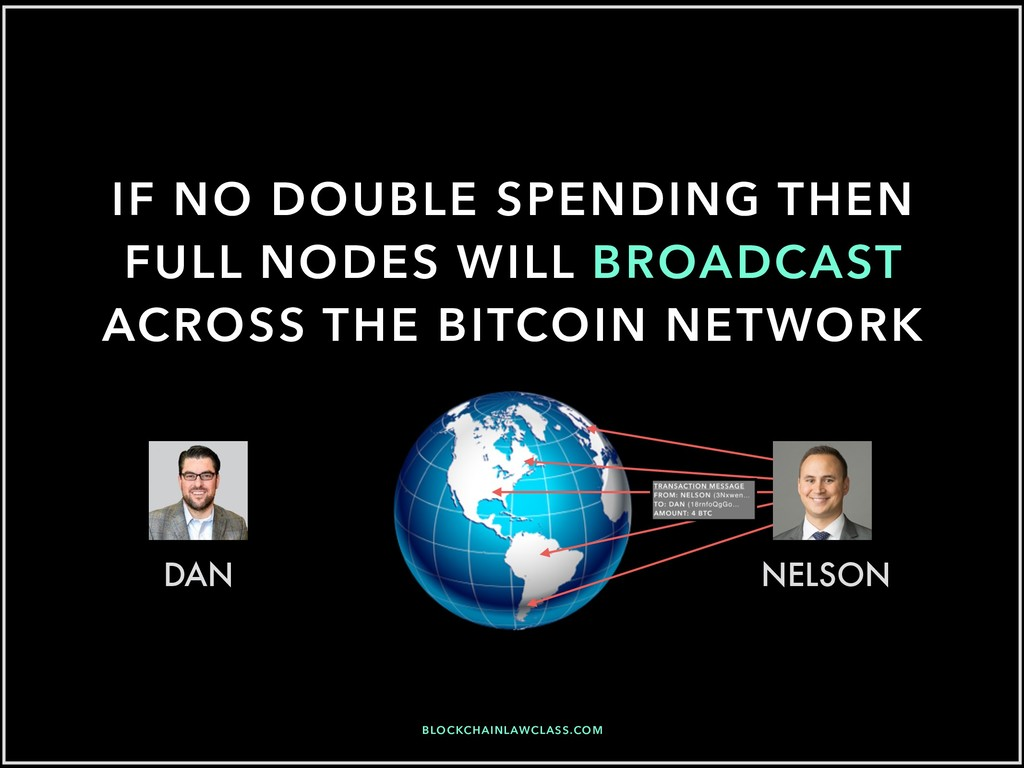 IF NO DOUBLE SPENDING THEN FULL NODES WILL BROA...
