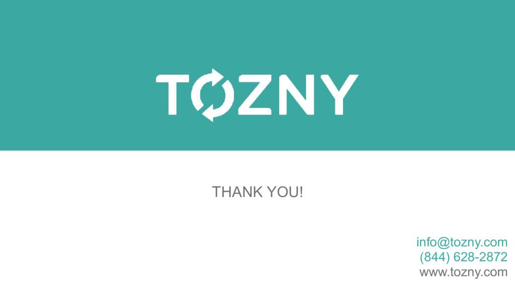 info@tozny.com (844) 628-2872 www.tozny.com THA...
