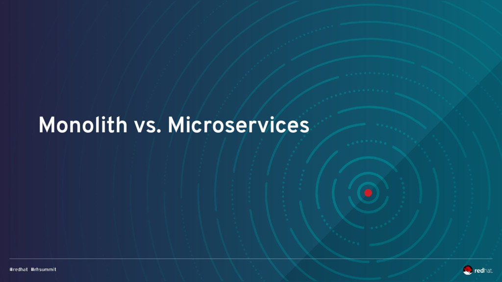 Monolith vs. Microservices