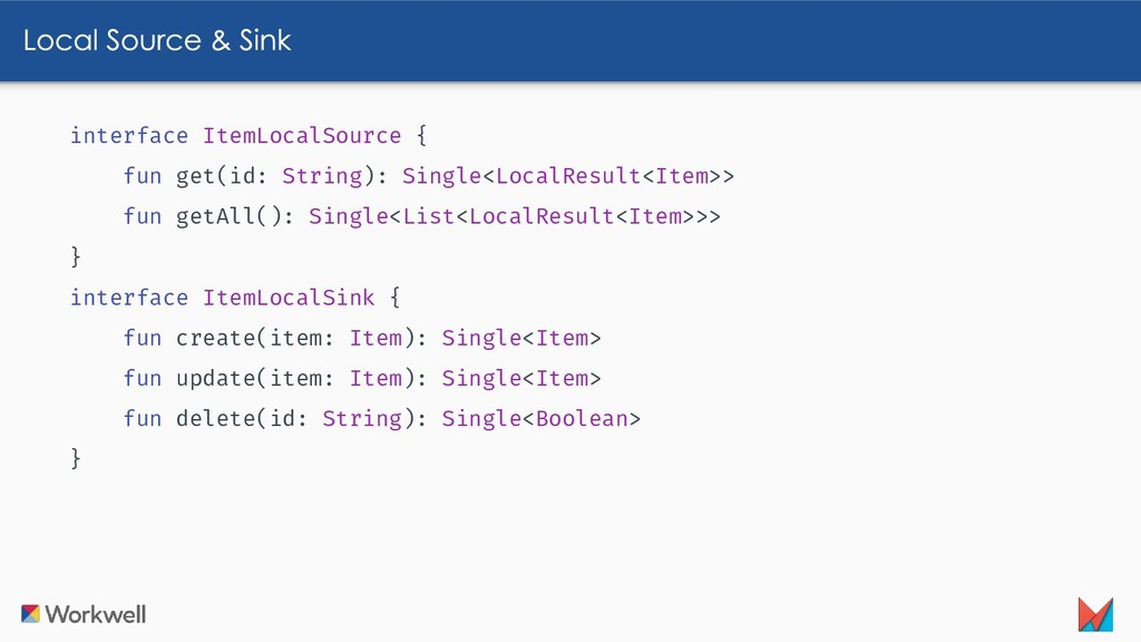 interface ItemLocalSource { fun get(id: String)...